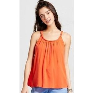 Mossimo Supply Co. Tops - Fashion summer Women's Woven Cami  Orange S
